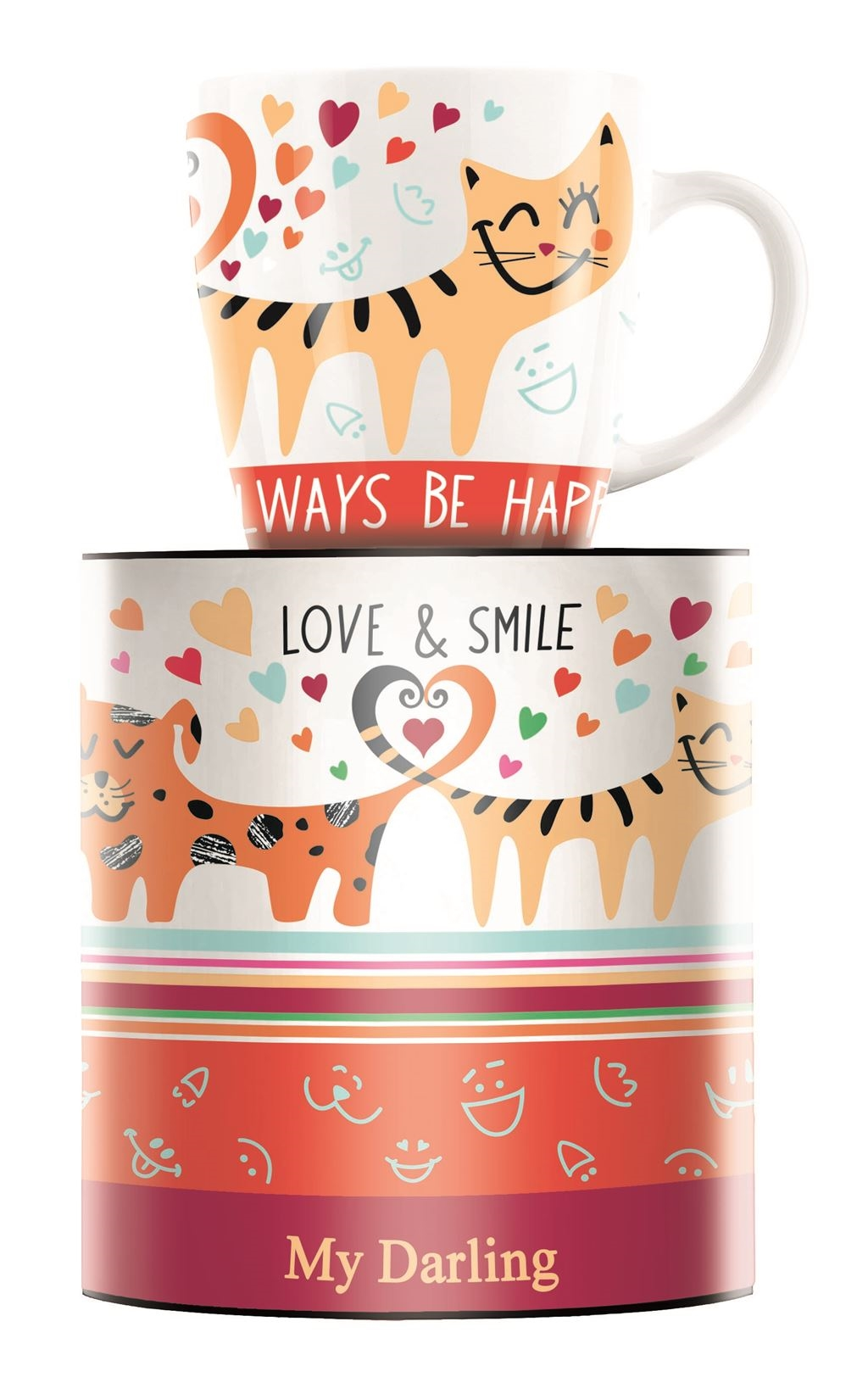 Always be happy lonček 0,3 l