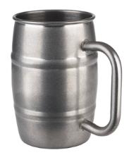 Beer mug lonček staran inox 0,50 l