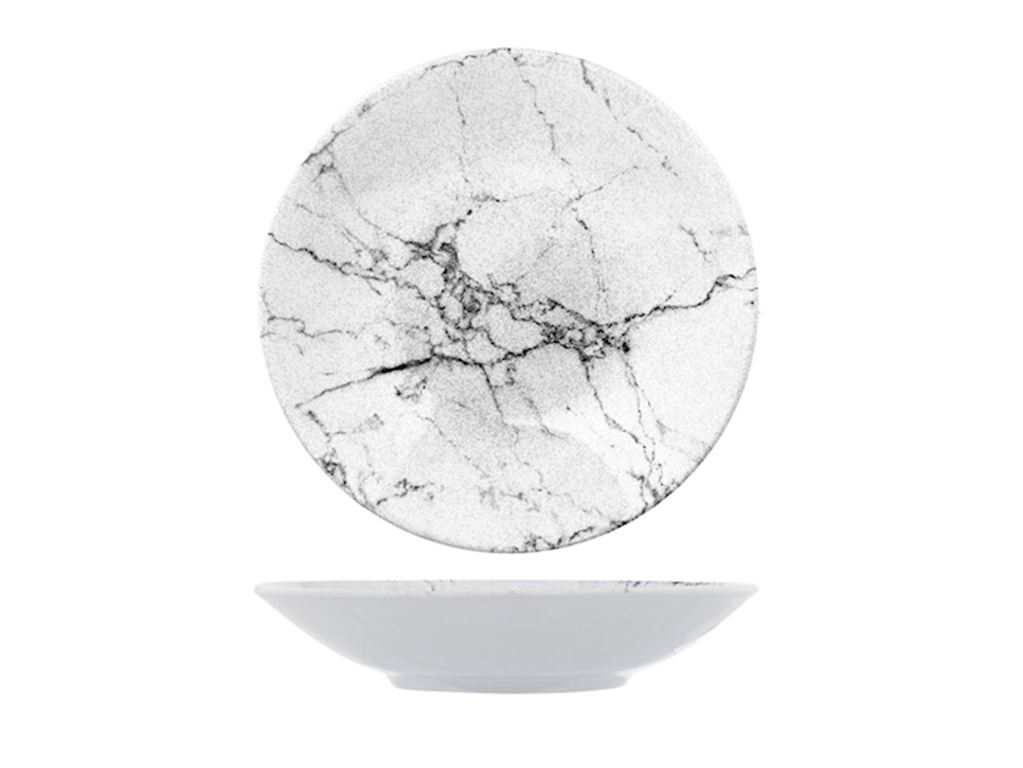 Carrara krožnik globok 21,5 cm