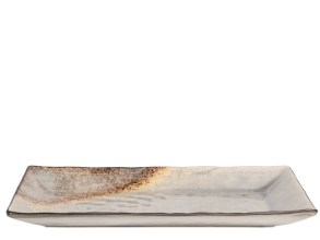 Crackle pladenj 32x17cm