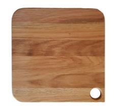 Deska kvadrat špica 30x30x2cm oljen hrast