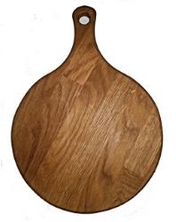 Deska okrogla z ročajem 26 cm
