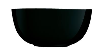 Diwali assiette skleda 21 cm črna