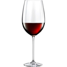 Elegance garnitura kozarcev 2/1 rdeče vino 0,51 l