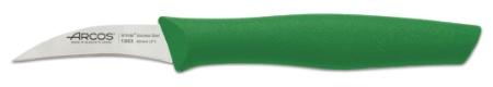 Genova nož 6 cm zelen