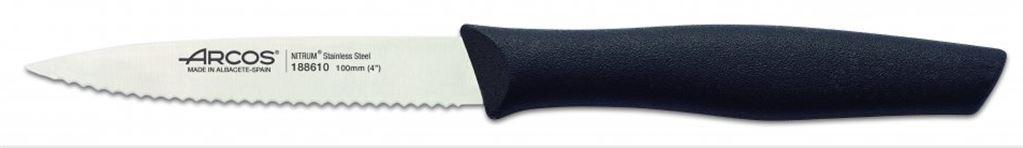 Genova nož žagica 10 cm črn
