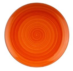 Joy krožnik desert 20cm oranžen