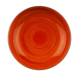 Joy krožnik globoki 22cm oranžen