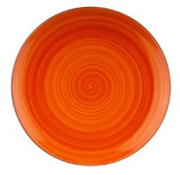 Joy krožnik plitvi 27,5cm oranžen