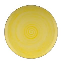 Joy krožnik plitvi 27,5cm rumen