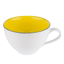 Joy skodelica 400ml rumena
