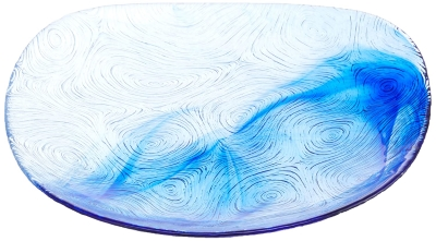 Linden krožnik desertni 19 cm moder