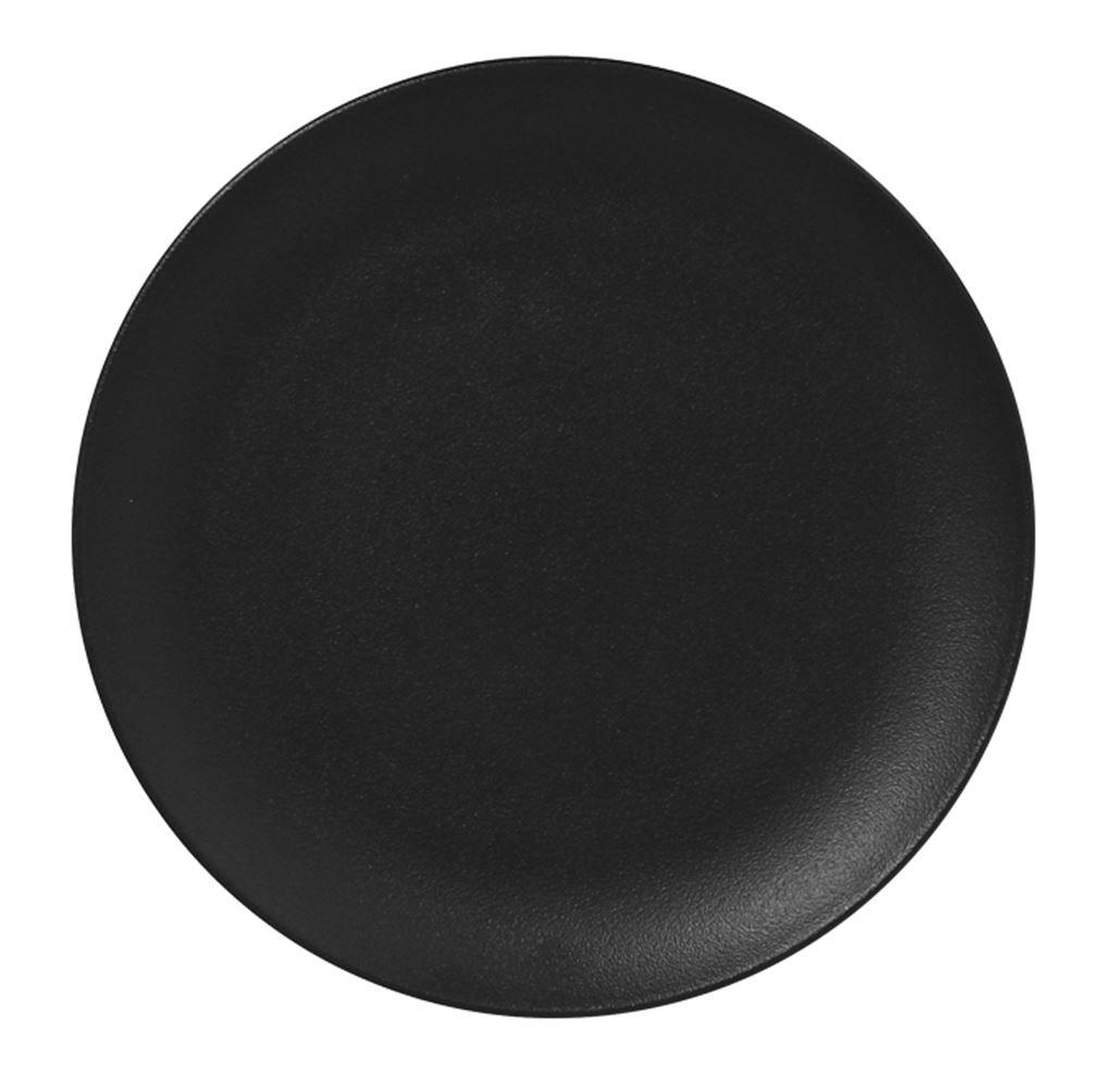 Nf krožnik coup plitvi 27 cm črn