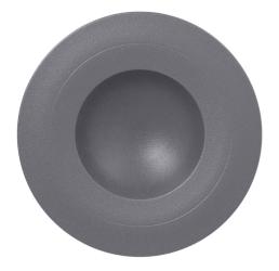 Nf krožnik globoki gourmet 23 cm siv