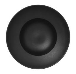 Nf krožnik globoki gourmet 26 cm črn