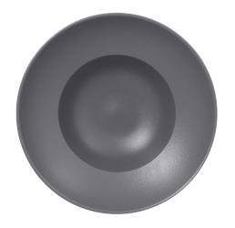Nf krožnik globoki gourmet 26 cm siv