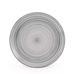 Ole krožnik desertni 20cm siv