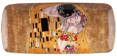 Pladenj porcelan klimt kiss gold 30x13,5 cm