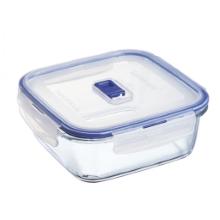 Pure box steklena doza za shranjevanje, kvadratna 1,22 l
